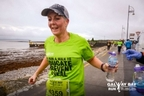 Tania Maher pictured passing the water station along Salthill promenade.